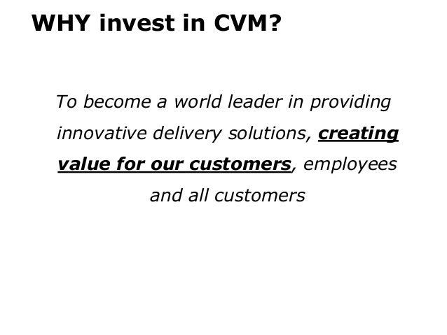 Customer value management Slide 3