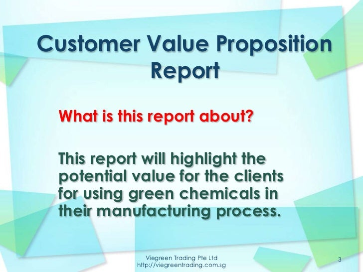 customer proposition One of the earliest considerations in your marketing plan should be your  customer value proposition (cvp) that is identifying what your.