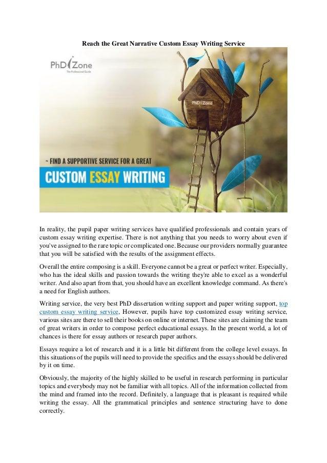 Custom dissertation writing service kijiji