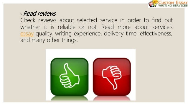 Different services essay
