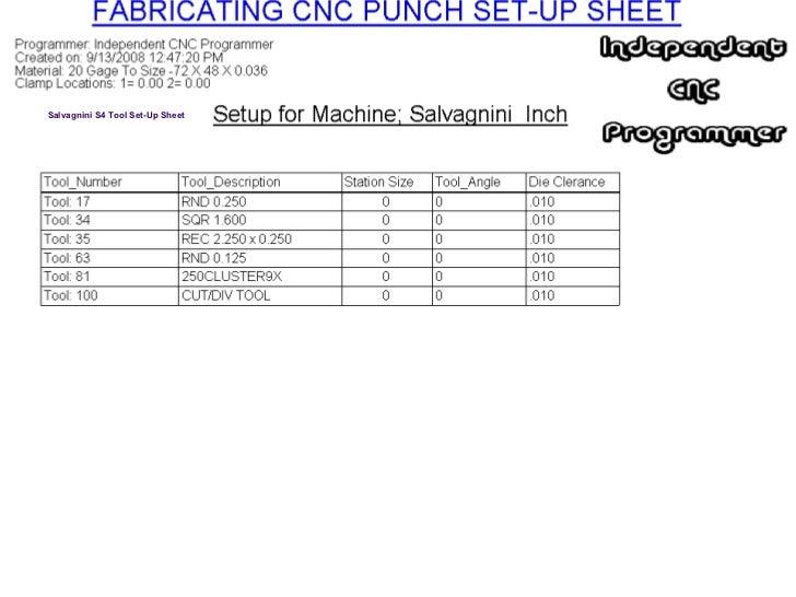 Independent CNC Programmer