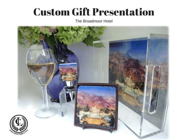 Classic Legacy Custom gift presentation for Historic Broadmoor Hotel