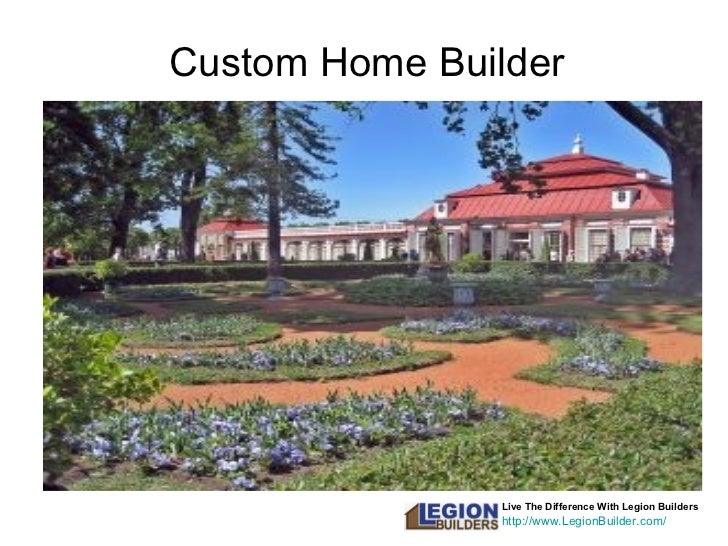 Live The Difference With Legion Builders http://www.LegionBuilder.com/ Custom Home Builder