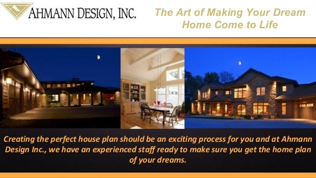 Custom Home Plans For Sale