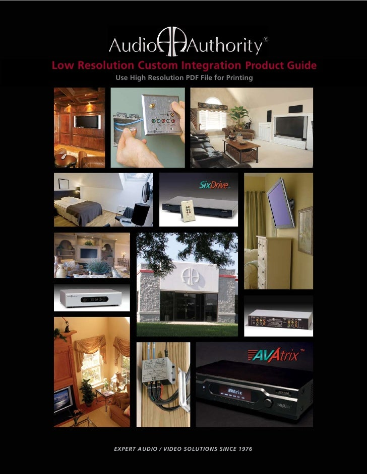 Low Resolution Integration Product Guide Guide        Custom Custom Integration Product            Use High Resolution PDF...