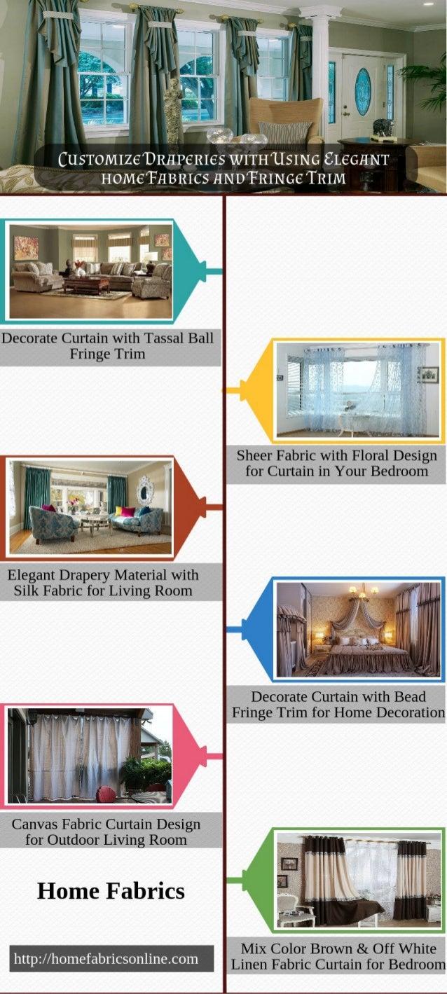 ..  it  -' . '* '  I %  CusToM1ze'DR11P€R1€s WITHUSING €L€G11NT  HOMETHBRICS HNDTRING€ TRIM  Decorate Curtain with Tassal ...
