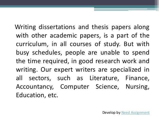 Dissertation help in houston