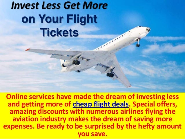 airline industry travel deals