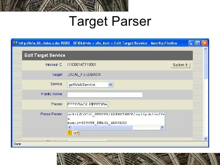 Target Parser