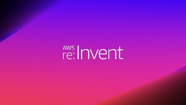 � 2018, Amazon Web Services, Inc. or its affiliates. All rights reserved.