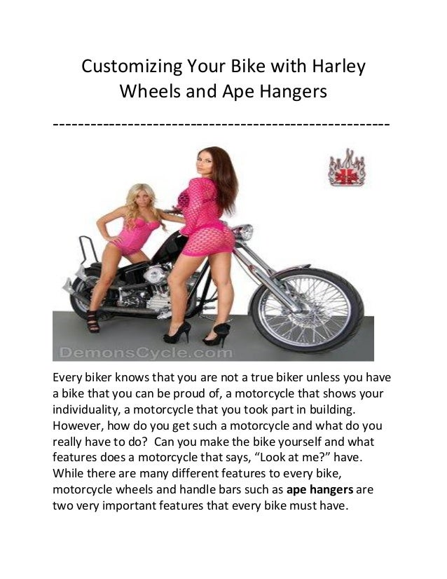 Customizing Your Bike with Harley Wheels and Ape Hangers ------------------------------------------------------  Every bik...