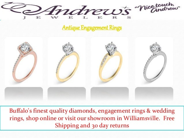 3 antique engagement rings - Wedding Ring Shop
