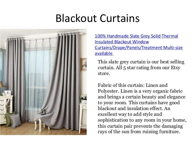 Available 4 Blackout Curtains