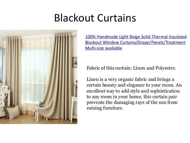 Blackout Curtains ...
