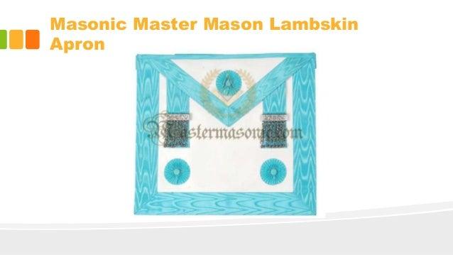 Masonic Aprons | Custom Masonic Regalia Officer Aprons