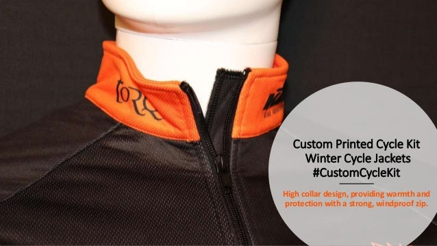 Custom Printed Cycle Kit - Thermal Winter Cycle Jackets