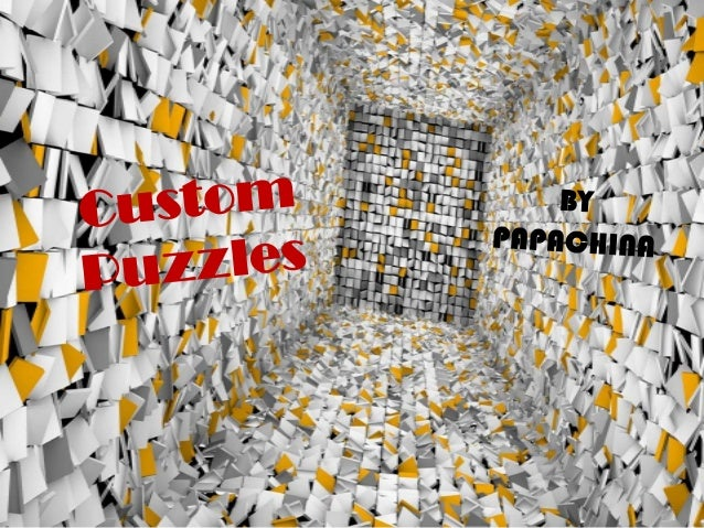 Custom puzzles is one of the best promotional tool of a business
