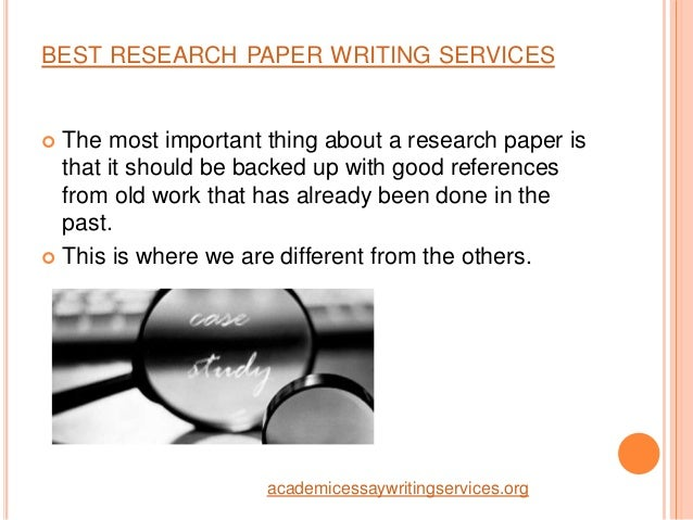 Customized research paper