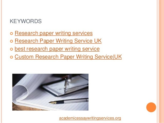 Custom research paper service