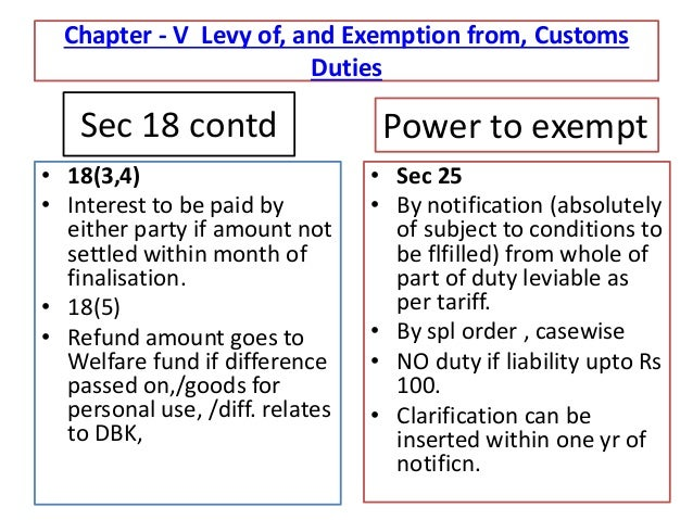 customs act Government of pakistan revenue division central board of revenue  the customs act, 1969 (iv of 1969) as amended up.
