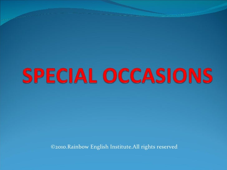©2010.Rainbow English Institute.All rights reserved