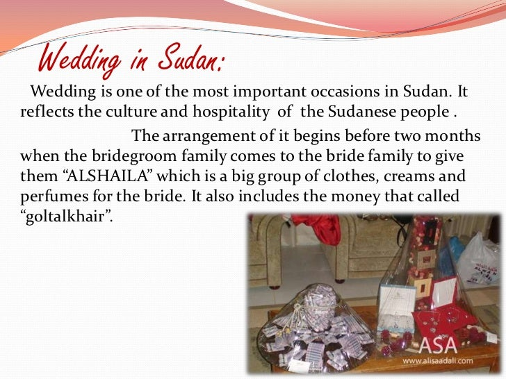 Sudanese customs and traditions
