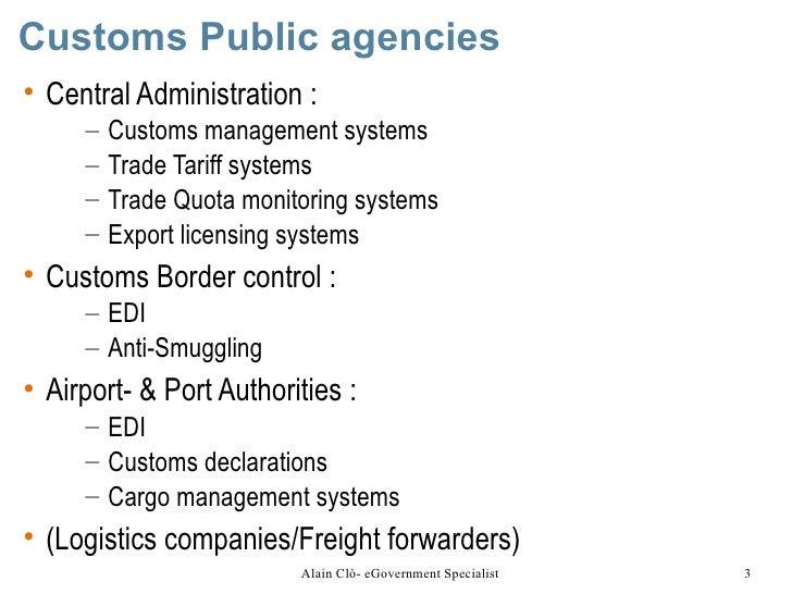 Customs and Border Management Slide 3