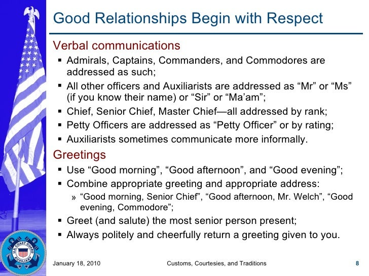 respect customs and courtesies Courtesies definition, excellence of manners or social conduct polite behavior see more.
