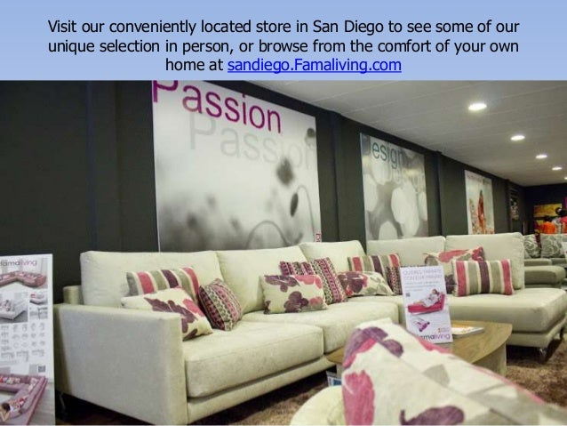 Living Room Furniture By SanDiego Famaliving