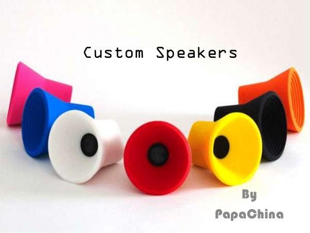 Custom Speakers By PapaChina