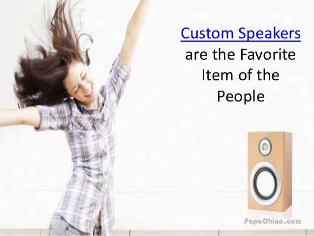 How Custom Speakers Will Bring More Deals of Your Business Slide 2