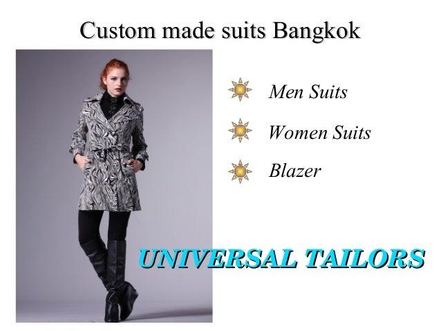 Custom made suits Bangkok Men Suits Women Suits Blazer  UNIVERSALTAILORS