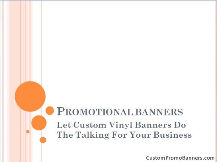 CustomPromoBanners.com