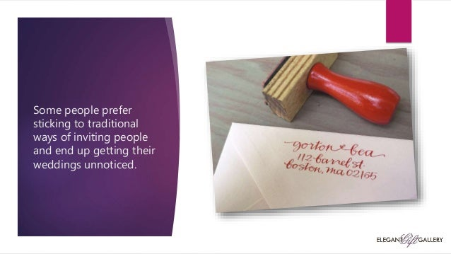 Custom wedding invitations , Elegant gift gallery