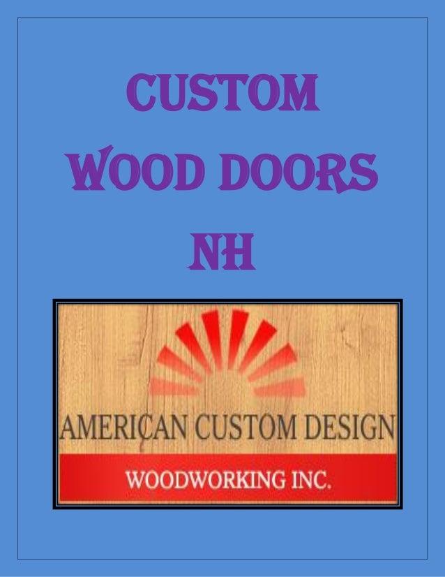 Custom Wood Doors NH