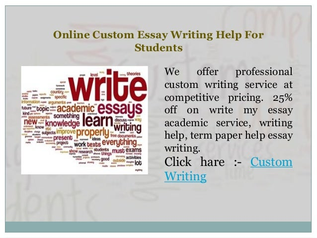 online custom essay writing service Essay writing services from professional essay writers essaybasics will provide an excellent essay writing service for you  our professional custom essay writing .