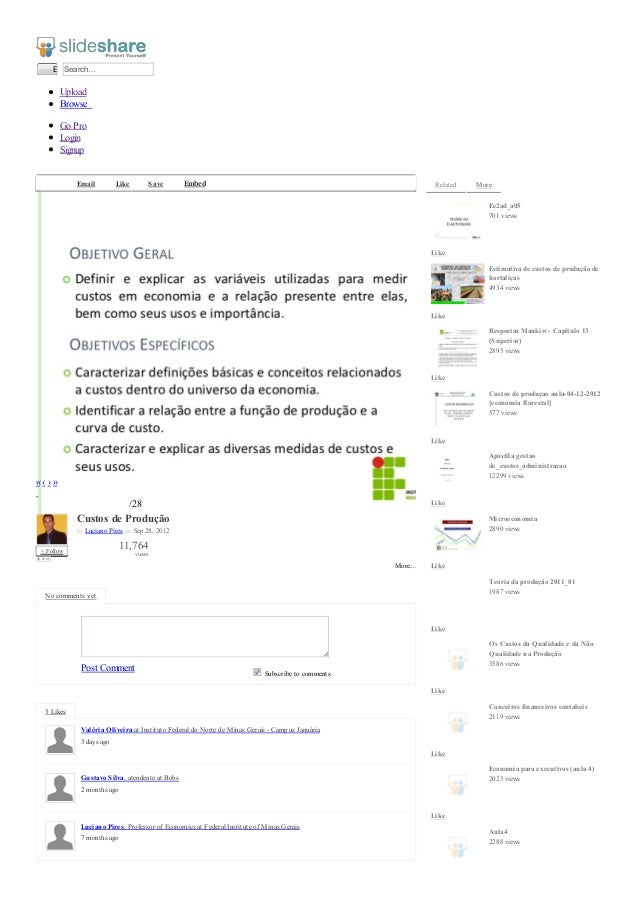 EnviarSearch…UploadGoProLoginSignup3daysago2monthsago7monthsagoBrowseEmail Like Save Embed2«‹›»/28+FollowCustos de Produçã...