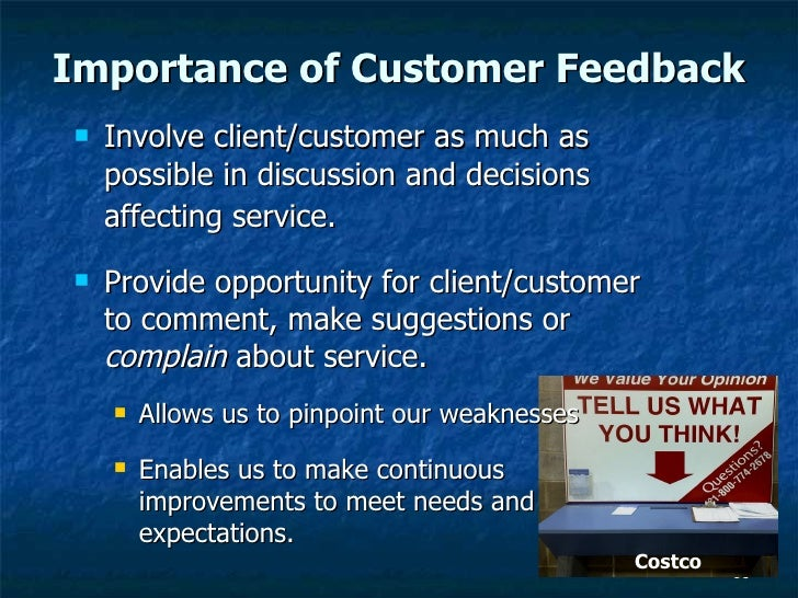 the value of good customer service Linking the customer experience to value  programs is paved with good intentions executives are quick to see the end-game benefits of a customer-centric strategy .