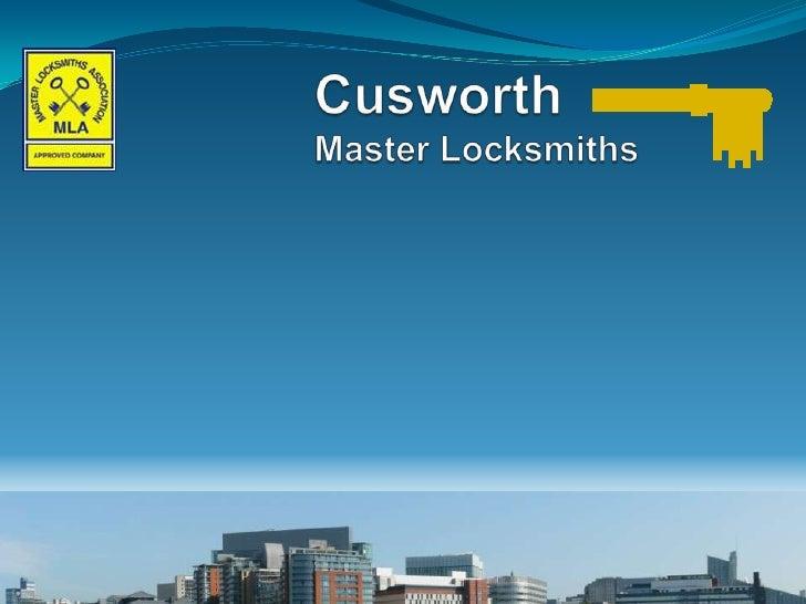 CusworthMaster Locksmiths<br />