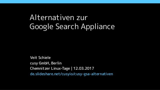 Alternativen zur 