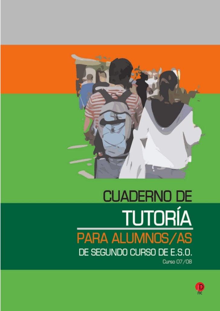 2º ESO.Material para el tutor               CUADERNO PARA EL TUTOR/A                 ORIENTADOR/A—2º ESO1-ACOGIDA Y PRESEN...