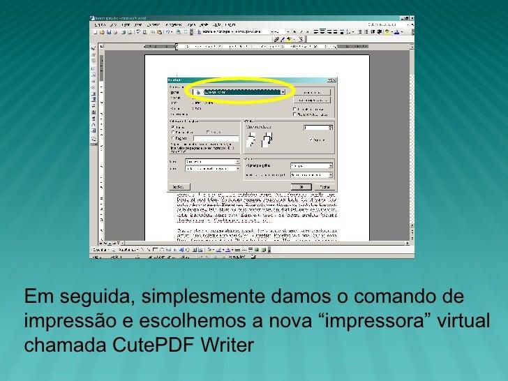 CutePDF Writer - Descargar