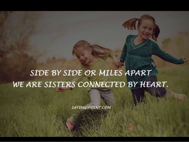 Cute sister sayings and quotes