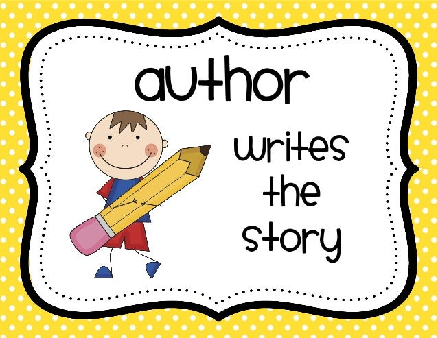 author writes a story