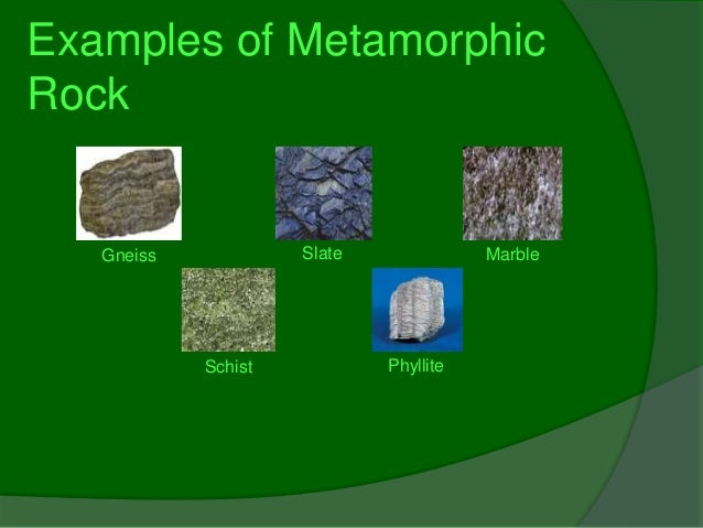 The Making Of Metamorphic Rock