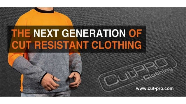 • High quality cut resistant clothing is essential in glass and metal handling. Cuts and lacerations can cause rapid blood...