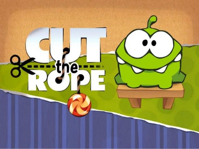 """«Cut the Rope» (рус. Перережь верёвку) — разработаннаякомпанией """"Zeptolab"""" развивающая игра-головоломка дляпортативных пла..."""