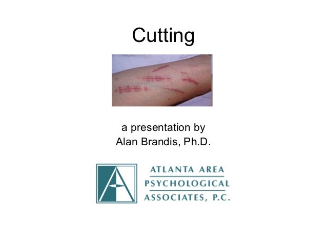 Cutting a presentation byAlan Brandis, Ph.D.