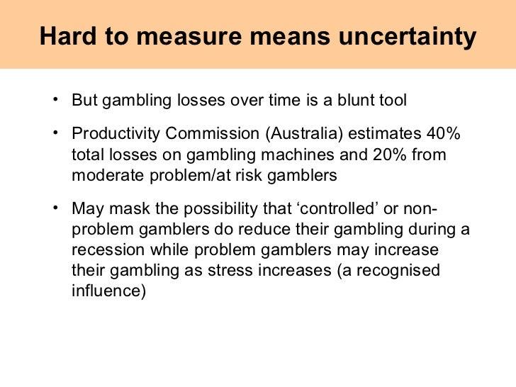 Productivity commission report on gambling harrahs rincon casino & resort