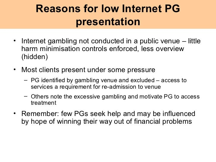 Detail notes on financial problem created by gambling how big is the online gambling industry worldwide